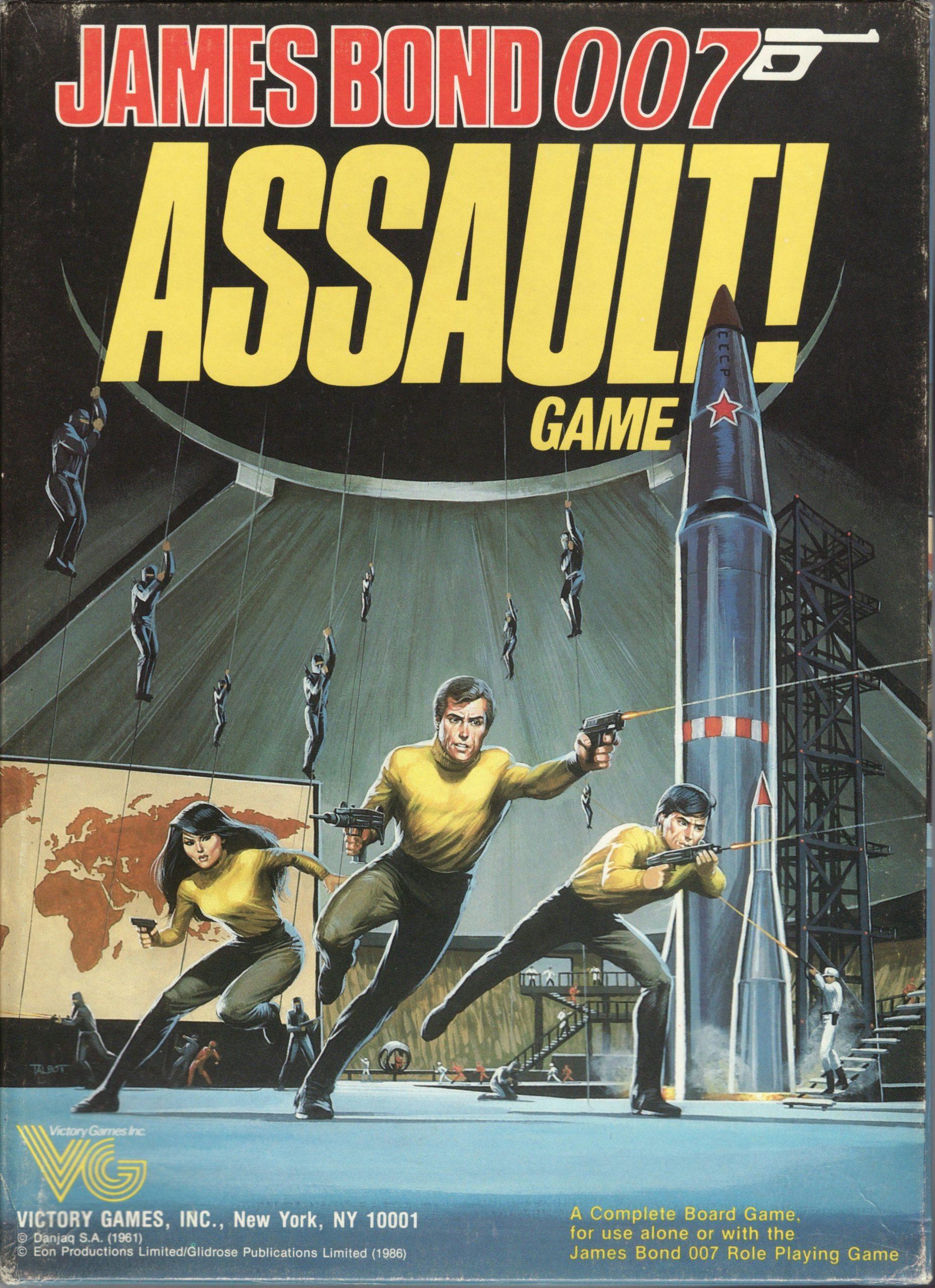 настольная игра James Bond 007 Assault! Game Джеймс Бонд 007 Нападение! Игра
