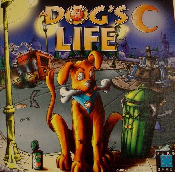 настольная игра A Dog's Life Собачья жизнь