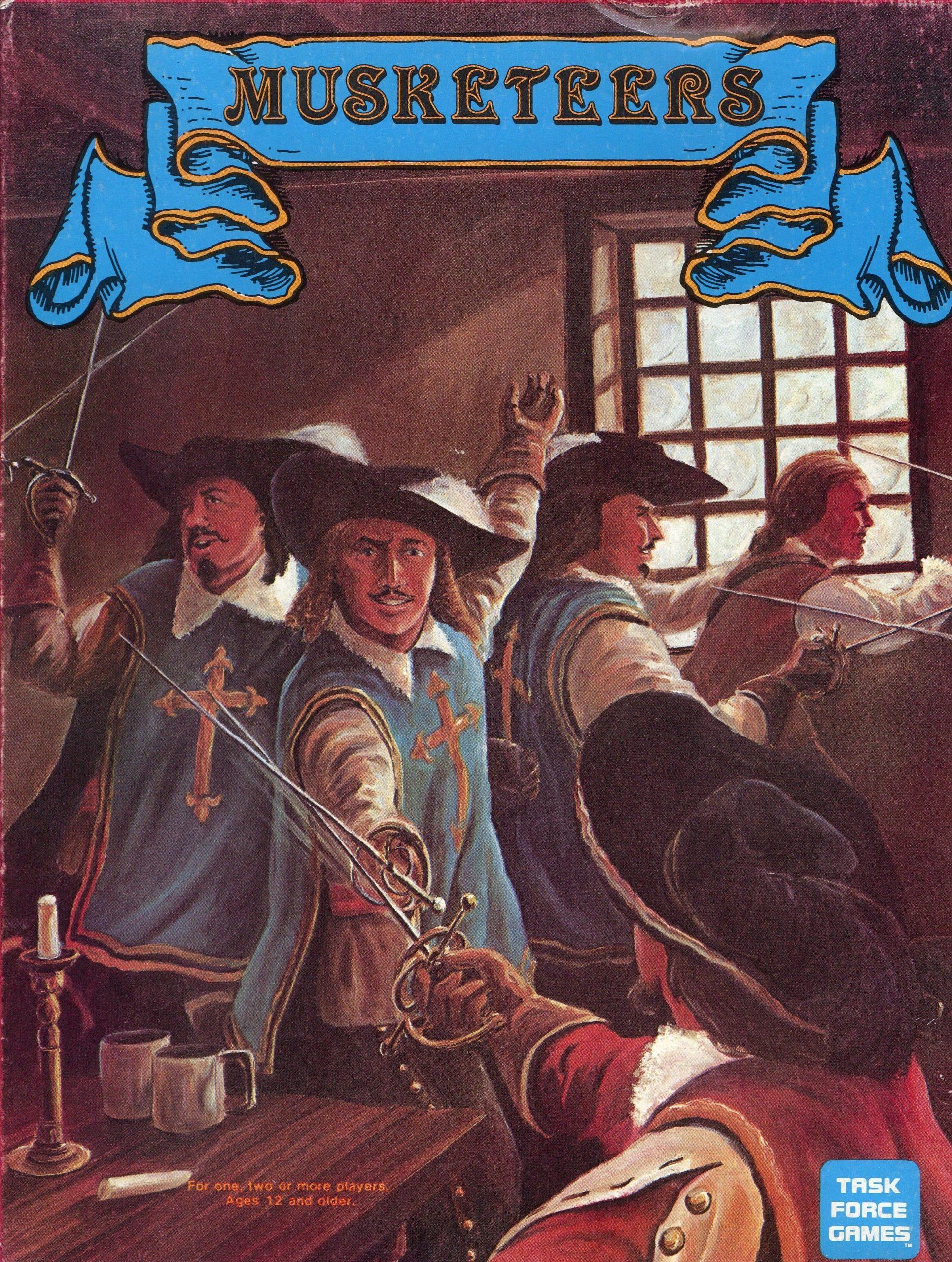настольная игра Musketeers Мушкетеры