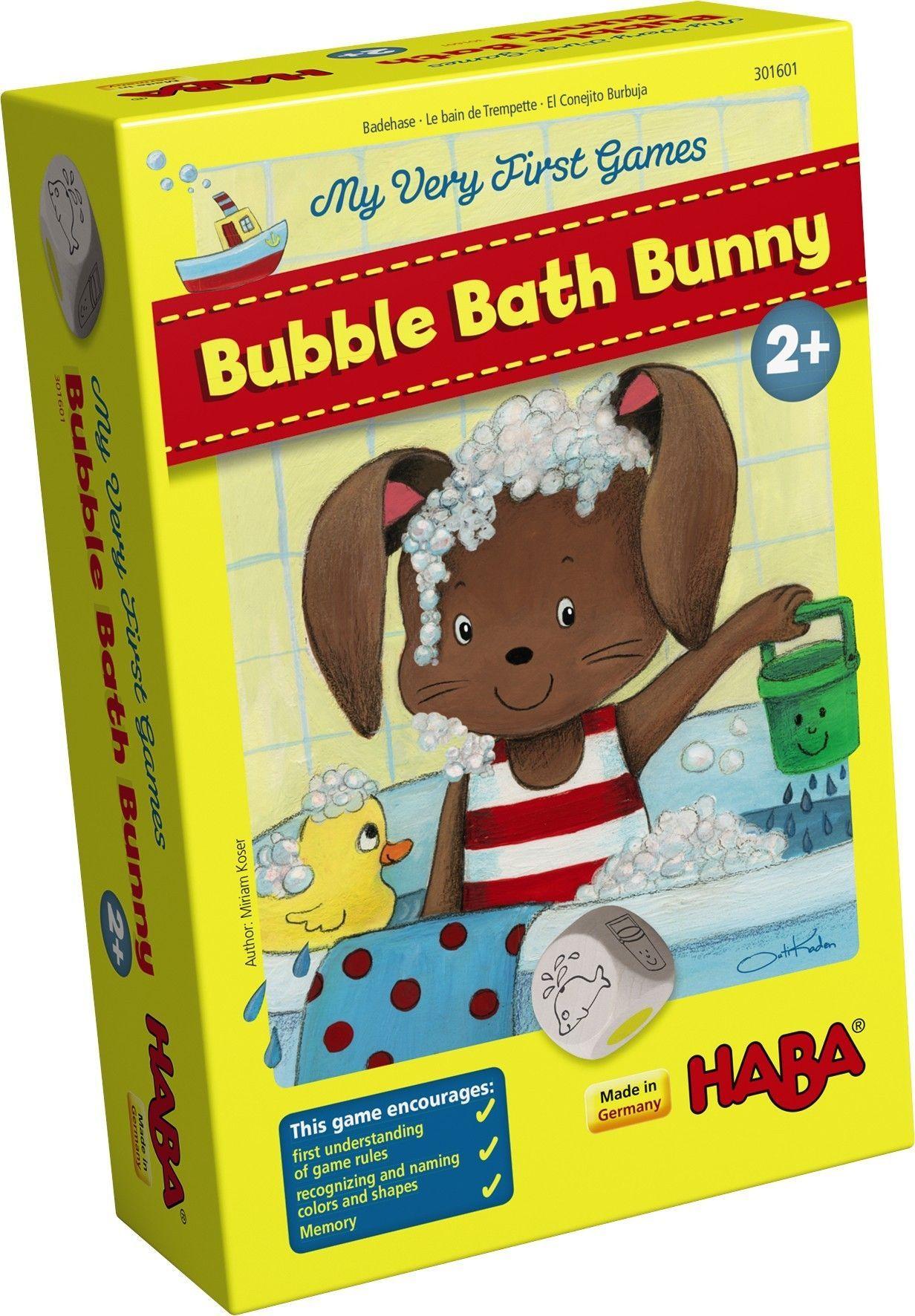 настольная игра Bubble Bath Bunny Кролик для ванны с пузырьками