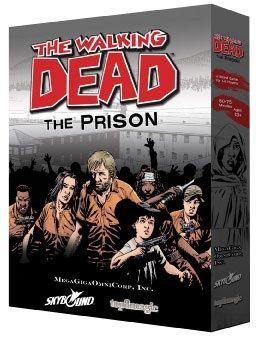 настольная игра The Walking Dead: The Prison – Board Game Ходячие мертвецы: Тюрьма - Настольная игра