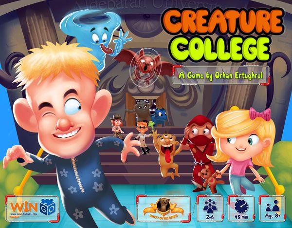 настольная игра Creature College Колледж существ