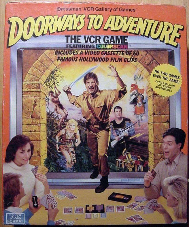 настольная игра Doorways to Adventure Дороги к приключениям