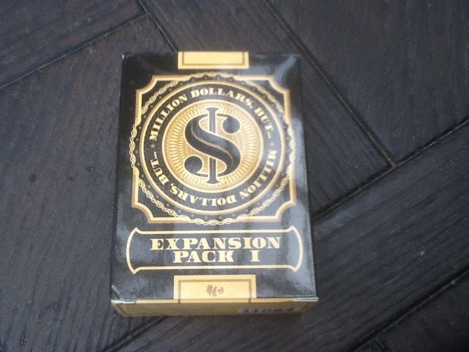 настольная игра Million Dollars But... The Game: Expansion Pack 1 Миллион долларов, но ... Игра: Дополнение 1