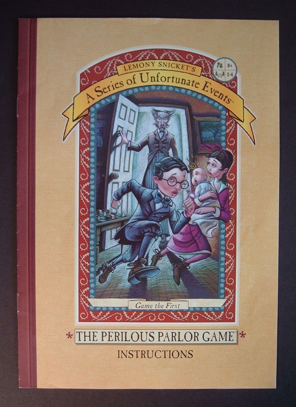 настольная игра The Perilous Parlor Game Опасная домашняя игра