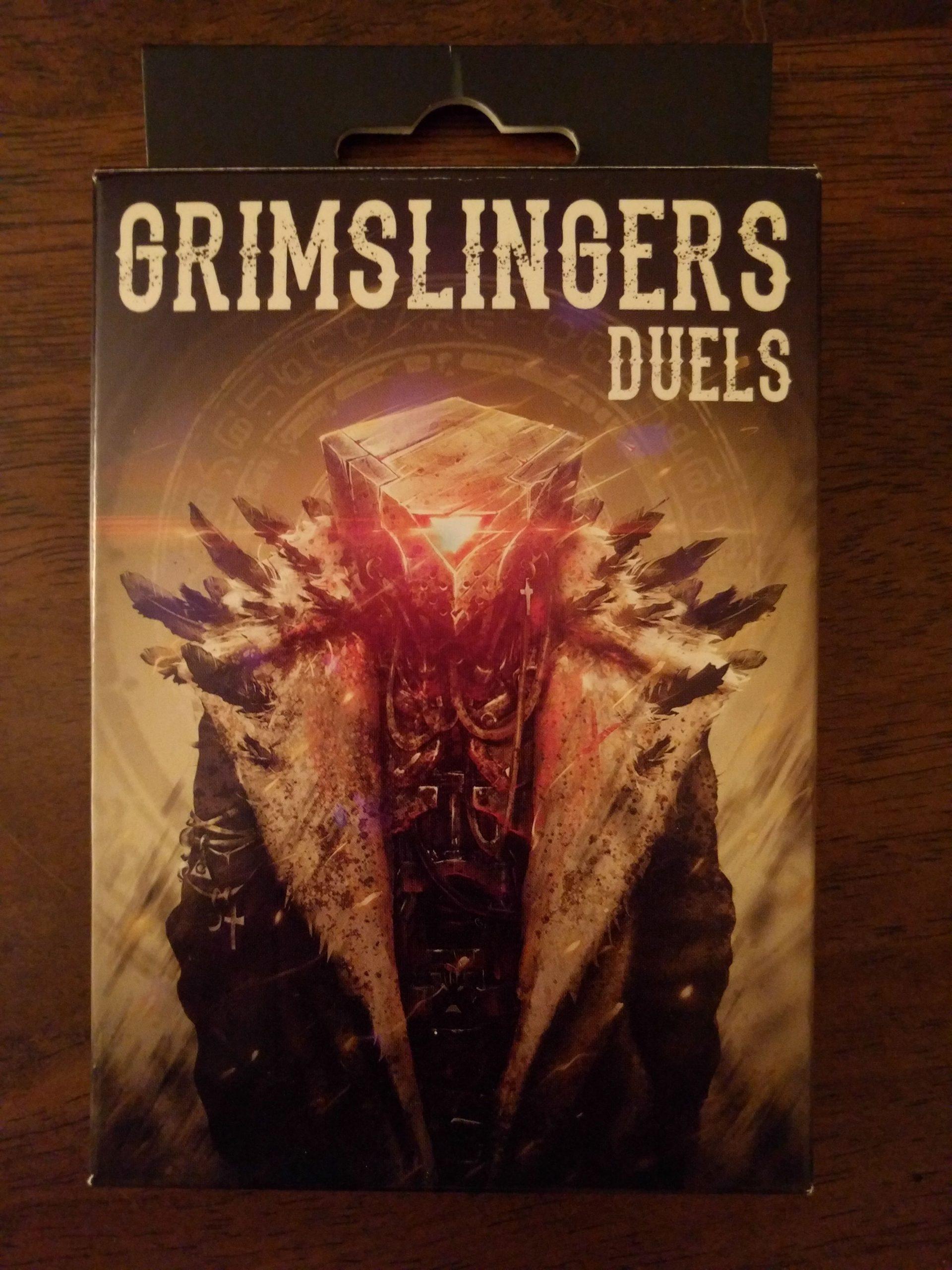 настольная игра Grimslingers: Duels Гримслингеры: Дуэли