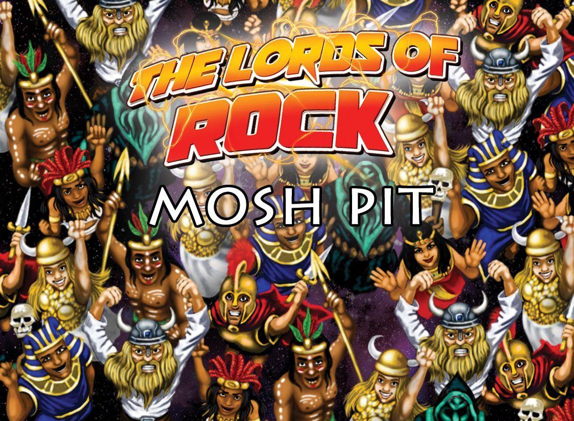 настольная игра The Lords of Rock: Mosh Pit Повелители Рока: Мош Яма