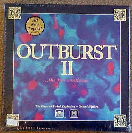 настольная игра Outburst II Вспышка II