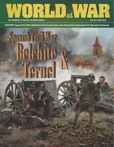 настольная игра Spanish Civil War Battles: Belchite & Teruel Сражения Гражданской войны в Испании: Бельчите и Теруэль