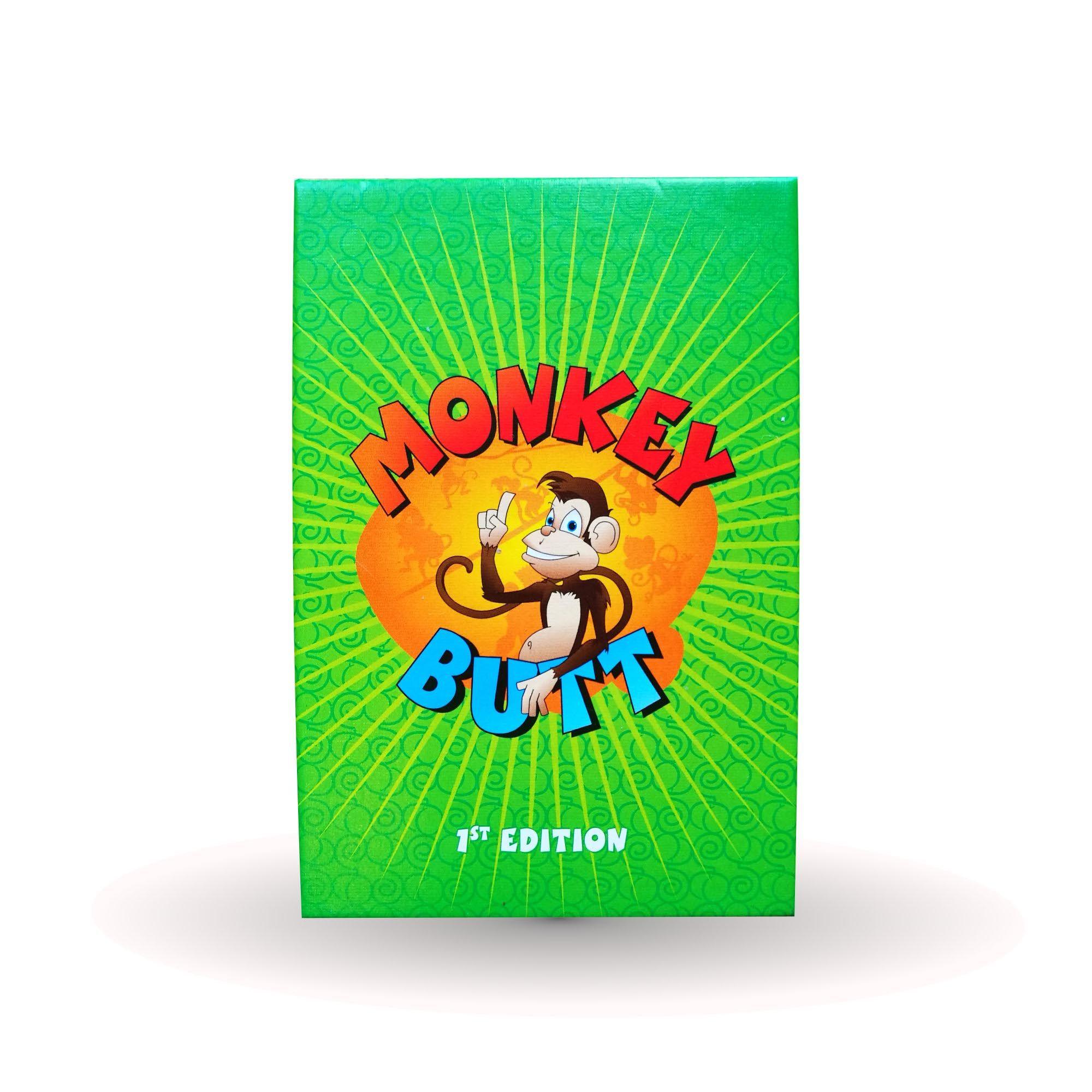 настольная игра Monkey Butt Обезьяна прикладом