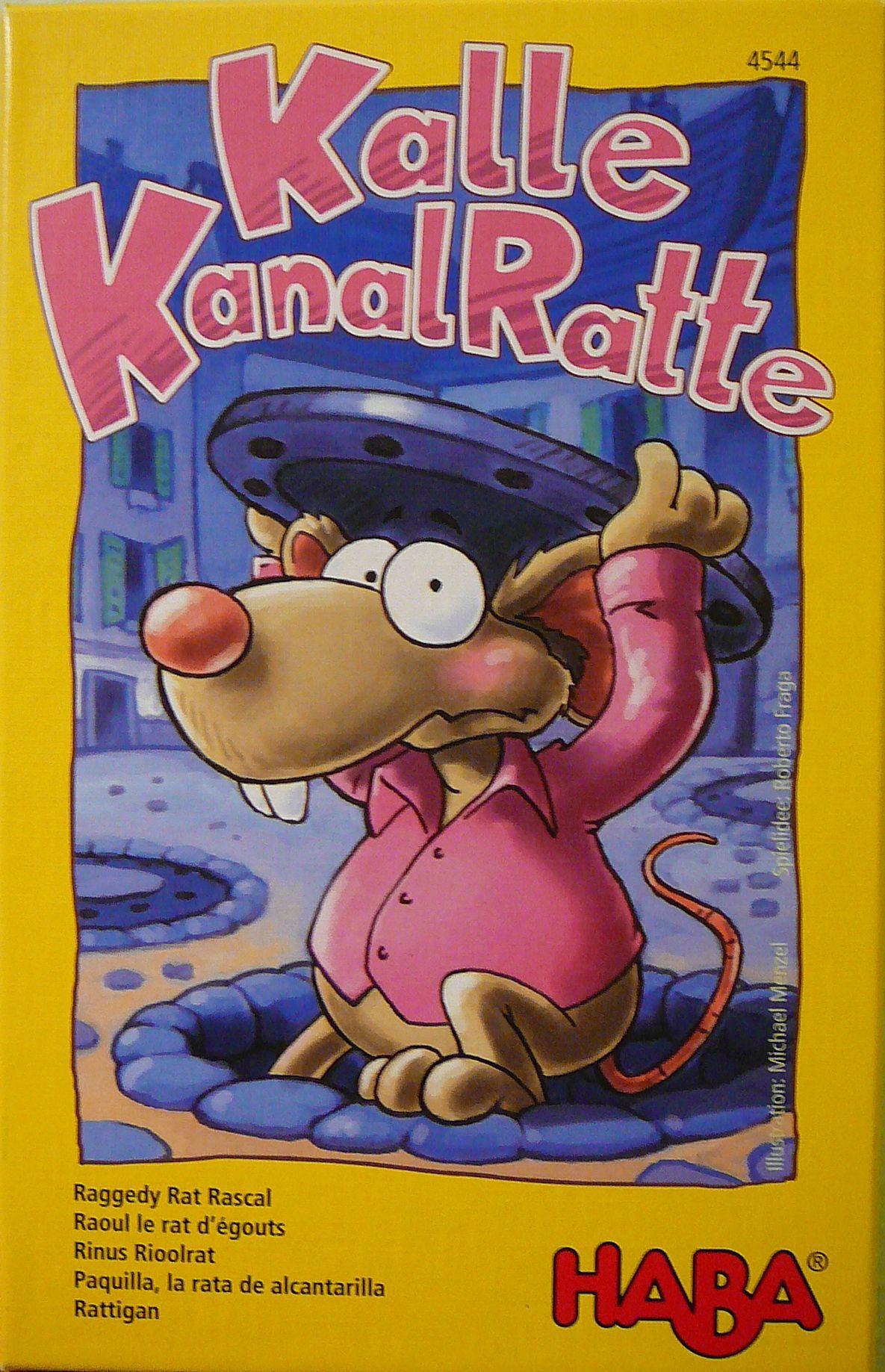 настольная игра Kalle Kanalratte