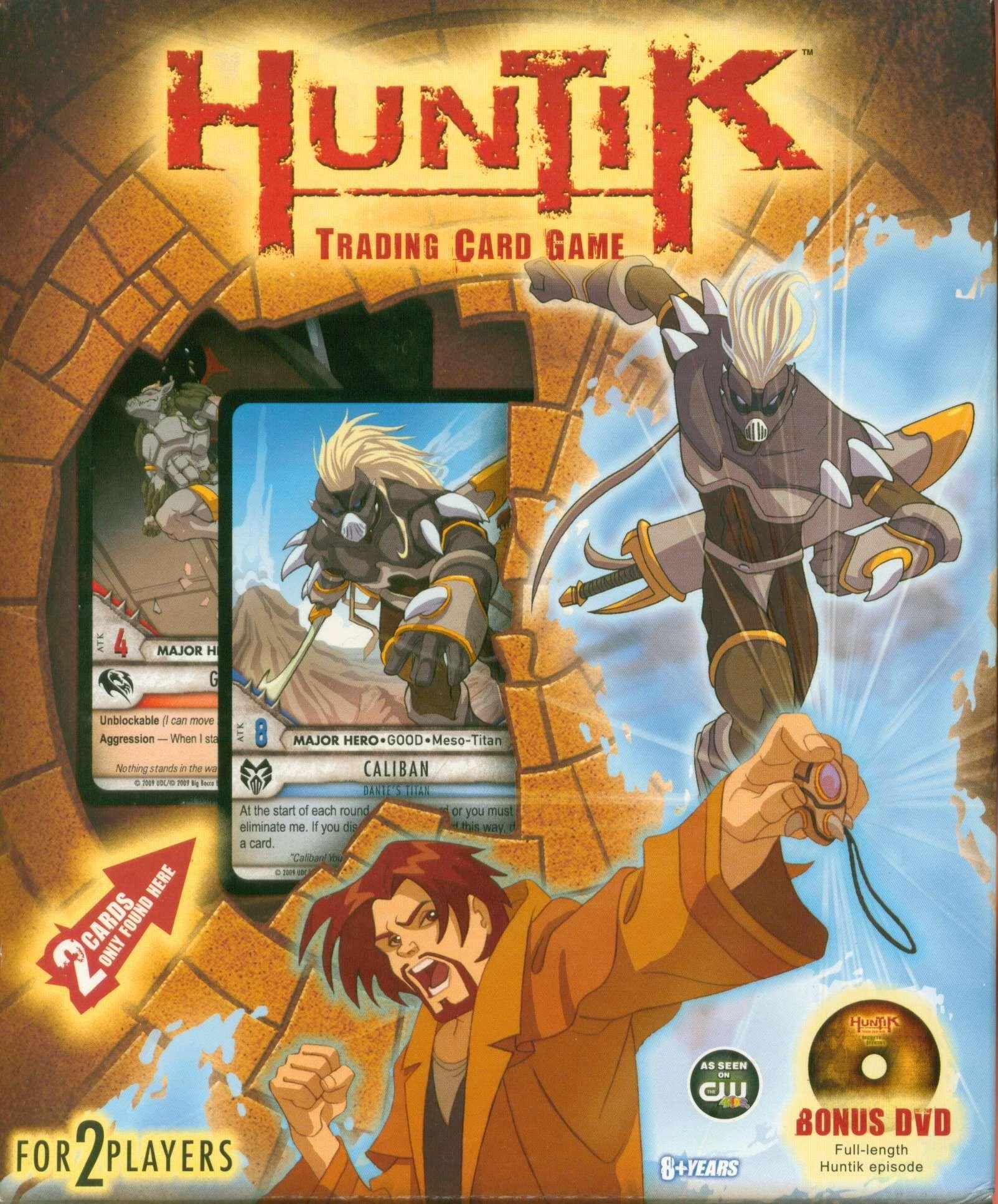 """настольная игра Huntik: Secrets and Seekers Trading Card Game Huntik: Коллекционная карточная игра """"Секреты и искатели"""""""