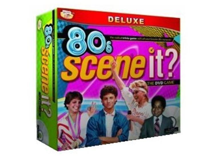 настольная игра Scene It? 80s Сцена это? 80-е