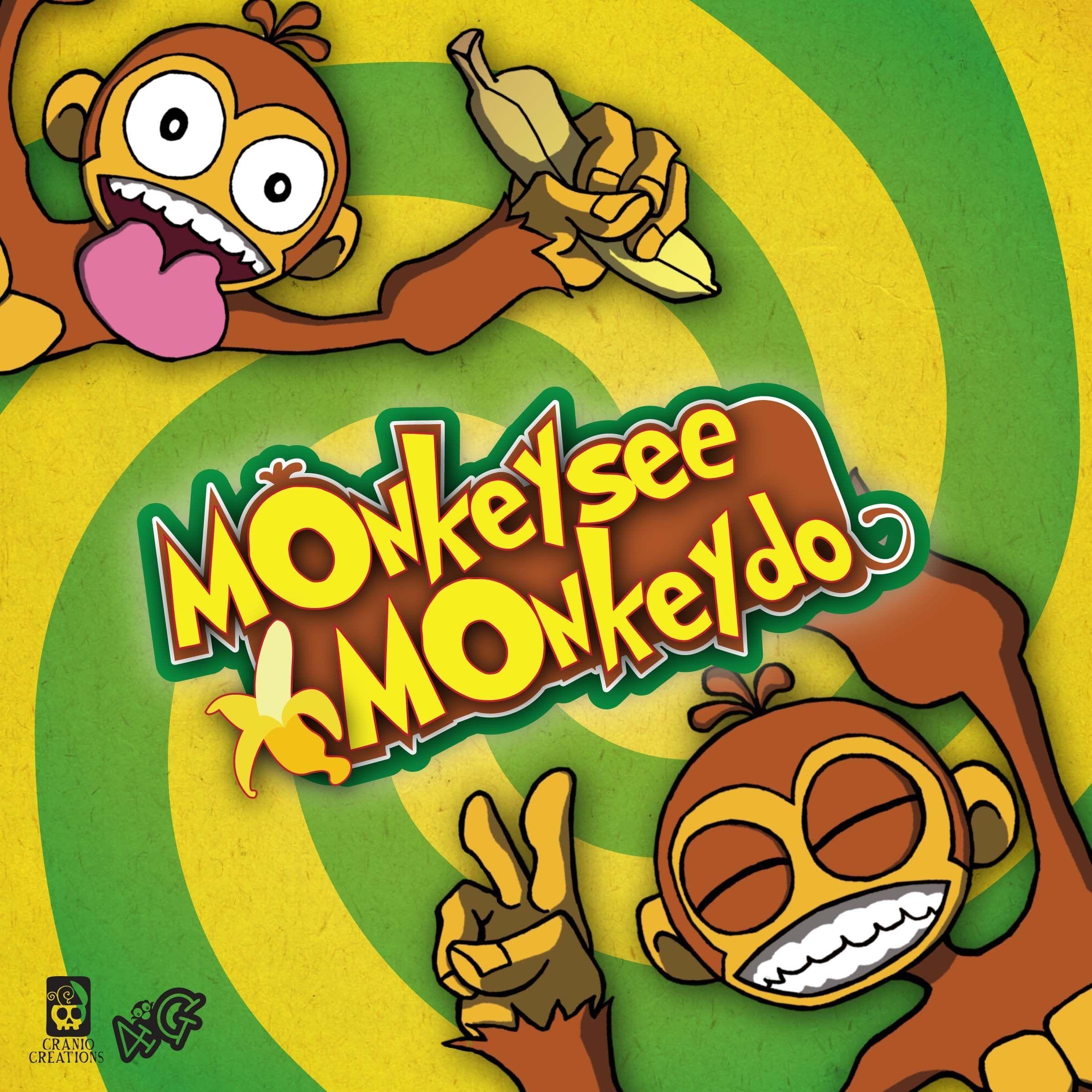 настольная игра Monkey See Monkey Do Обезьяна видит обезьяна делает