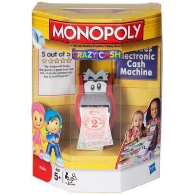 настольная игра Monopoly: Crazy Cash Монополия: Crazy Cash