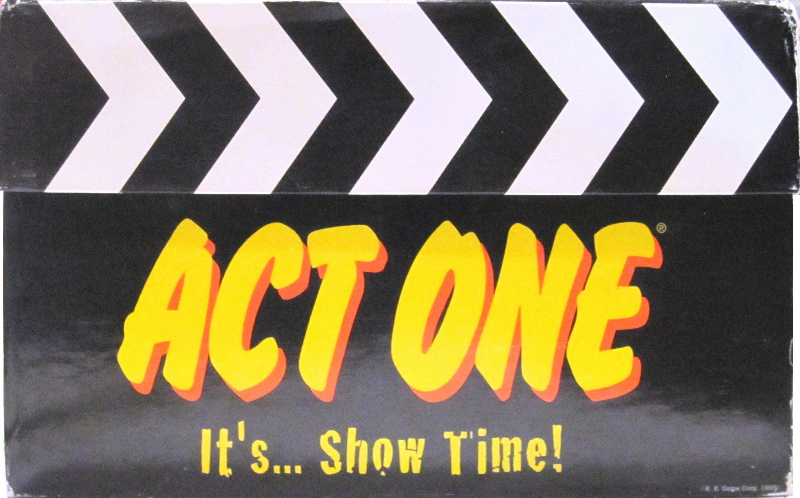 настольная игра Act One Акт первый