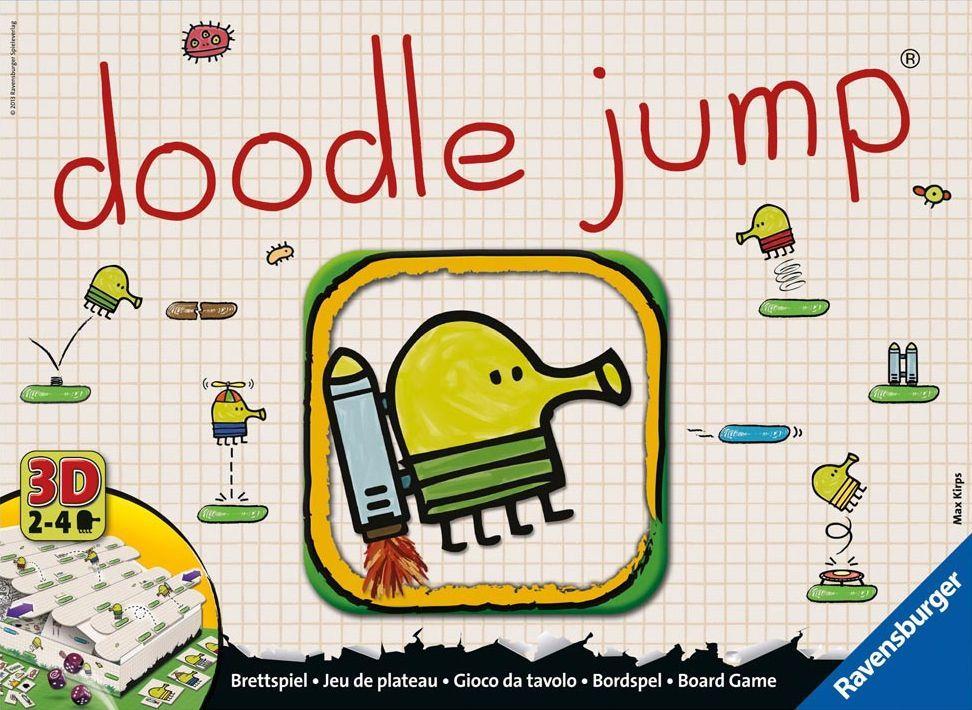 настольная игра Doodle Jump