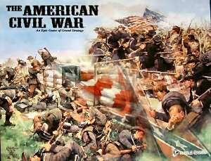 настольная игра The American Civil War Гражданская война в США