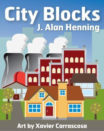настольная игра City Blocks Городские кварталы