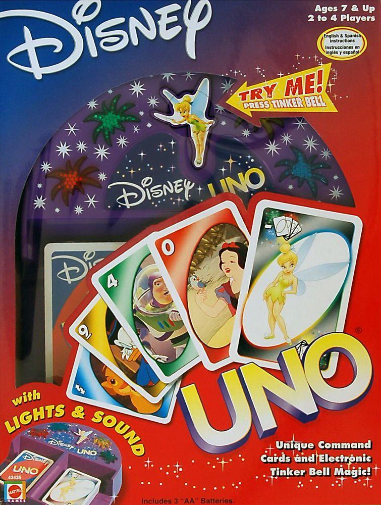 настольная игра UNO: Disney ООН: Дисней