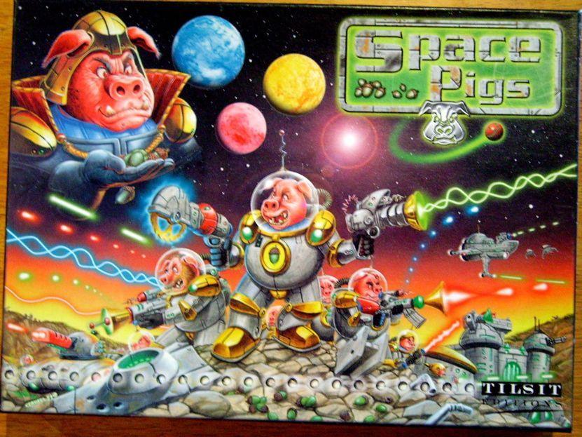 настольная игра Space Pigs Космические свиньи