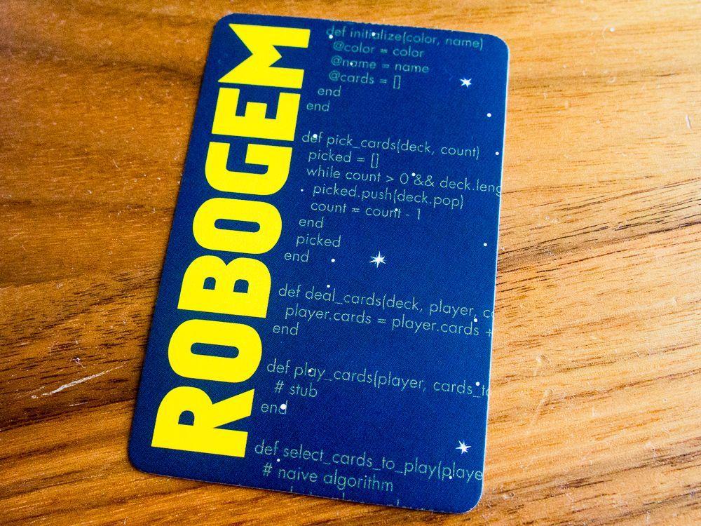 настольная игра Robogem Робогема