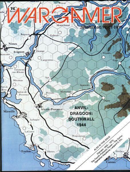 настольная игра Anvil-Dragoon: Southwall 1944 Наковальня-Драгун: Южный вал 1944