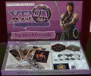 настольная игра Xena Warrior Princess: The Board Game Зена Королева Воинов: Настольная Игра