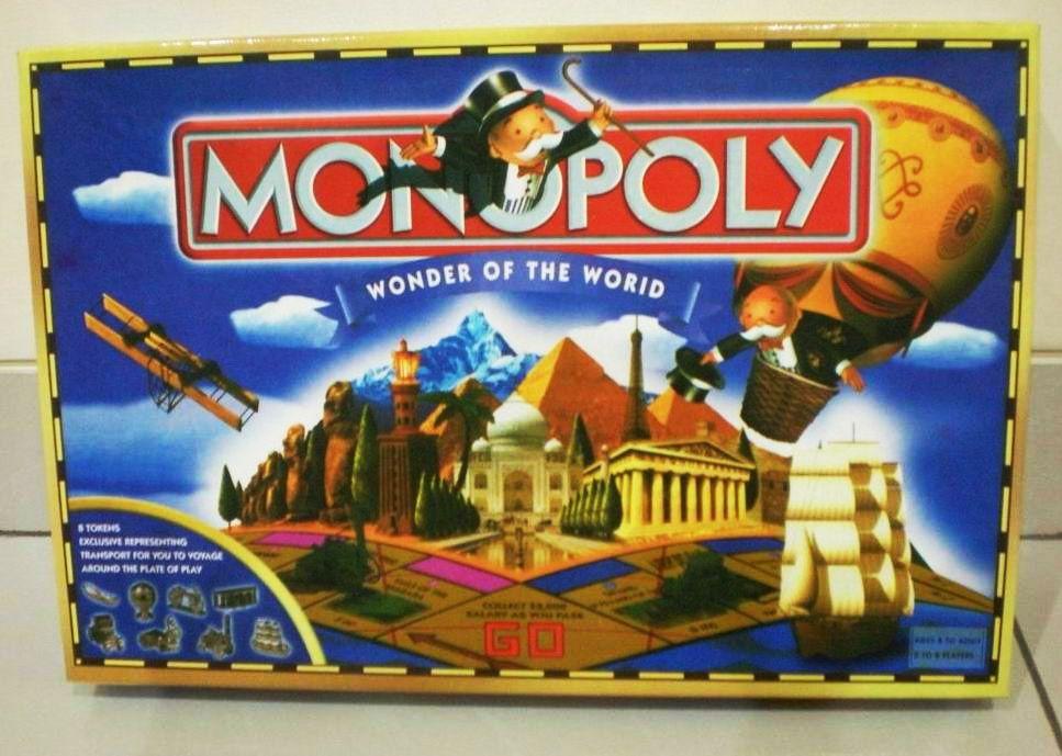 настольная игра Monopoly: Wonder of The World Монополия: Чудо света