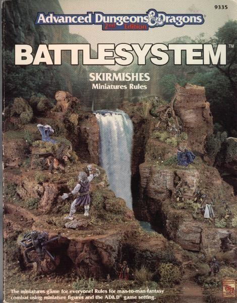 настольная игра Advanced Dungeons & Dragons Battlesystem Skirmishes Продвинутые схватки в Dungeons & Dragons Battlesystem
