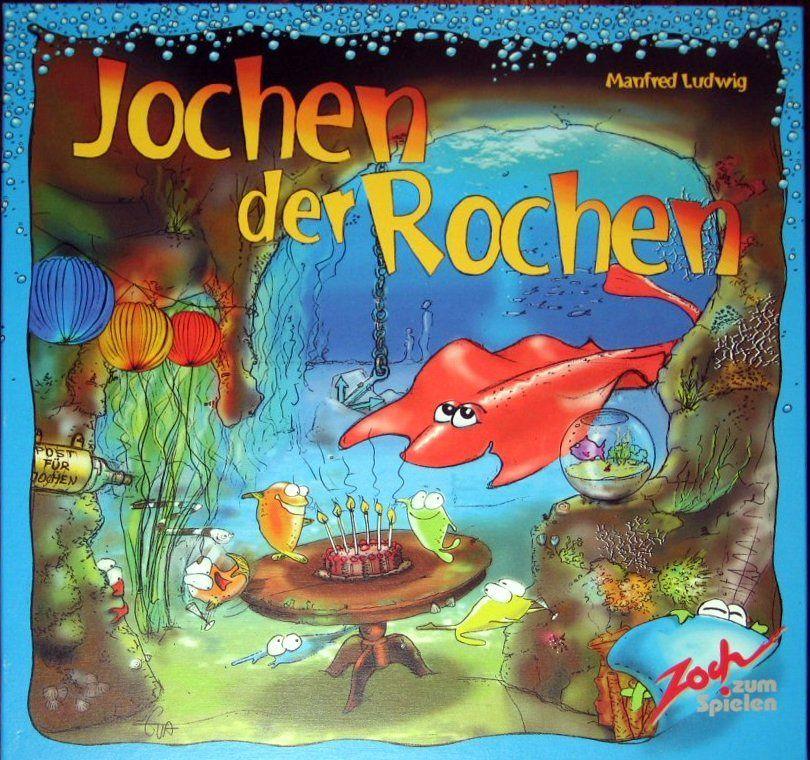 настольная игра Jochen der Rochen Йохен дер Рохен