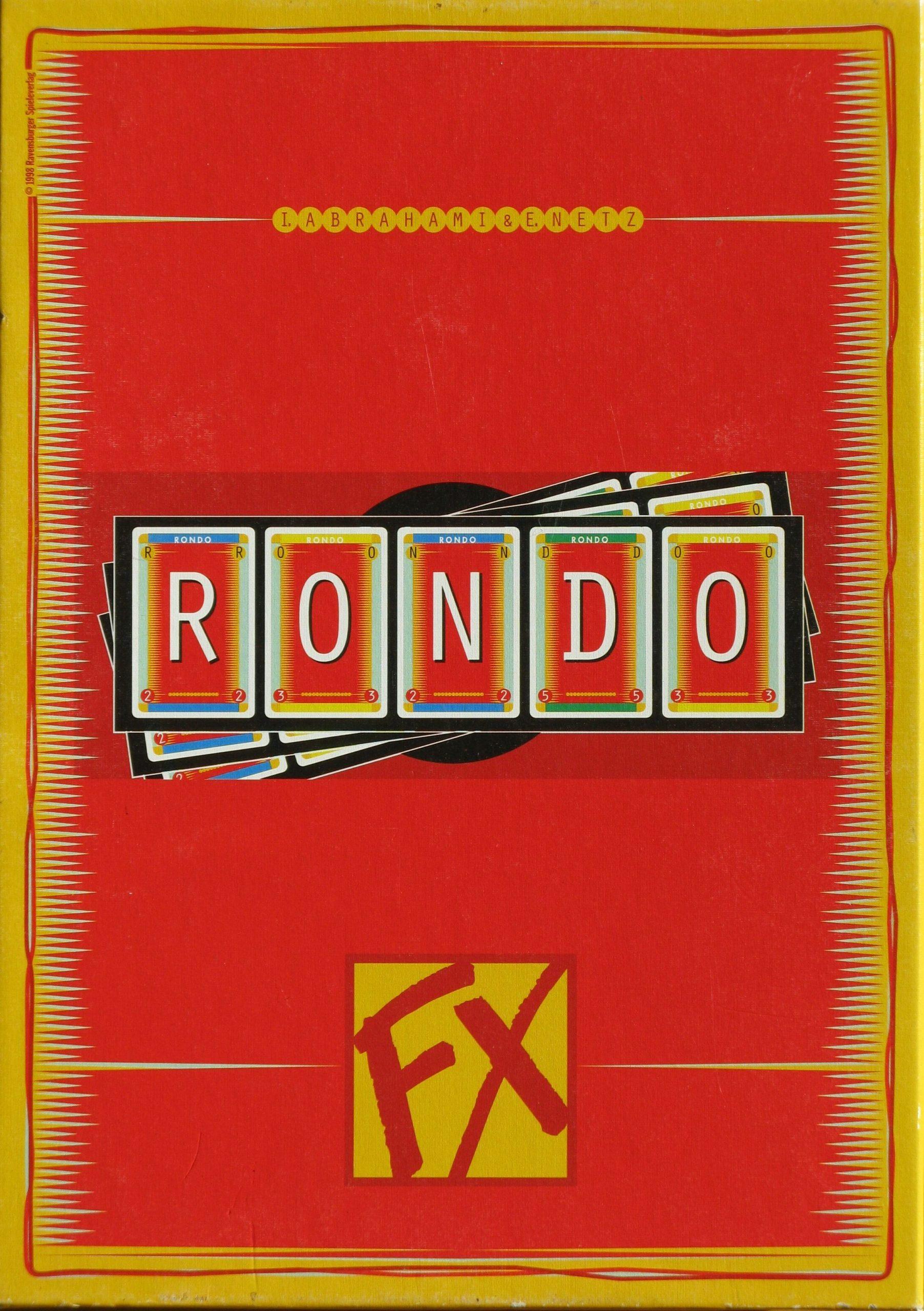 настольная игра Rondo Рондо