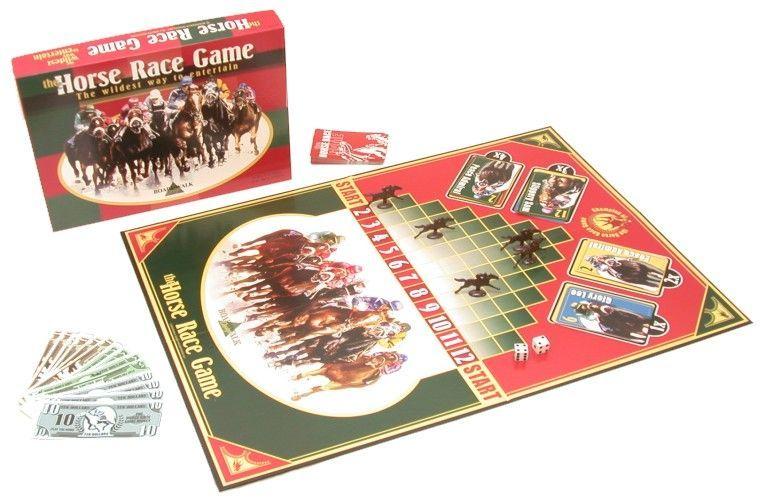 настольная игра The Horse Race Game Игра в скачки
