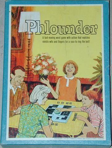 настольная игра Phlounder