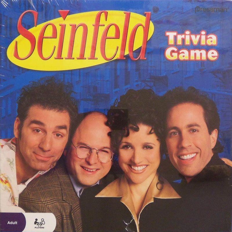 настольная игра Seinfeld Trivia Game Сайнфельд викторины