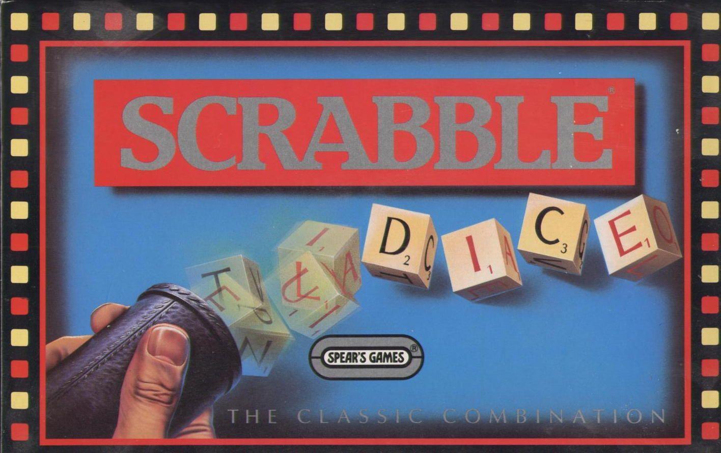 настольная игра Scrabble Dice