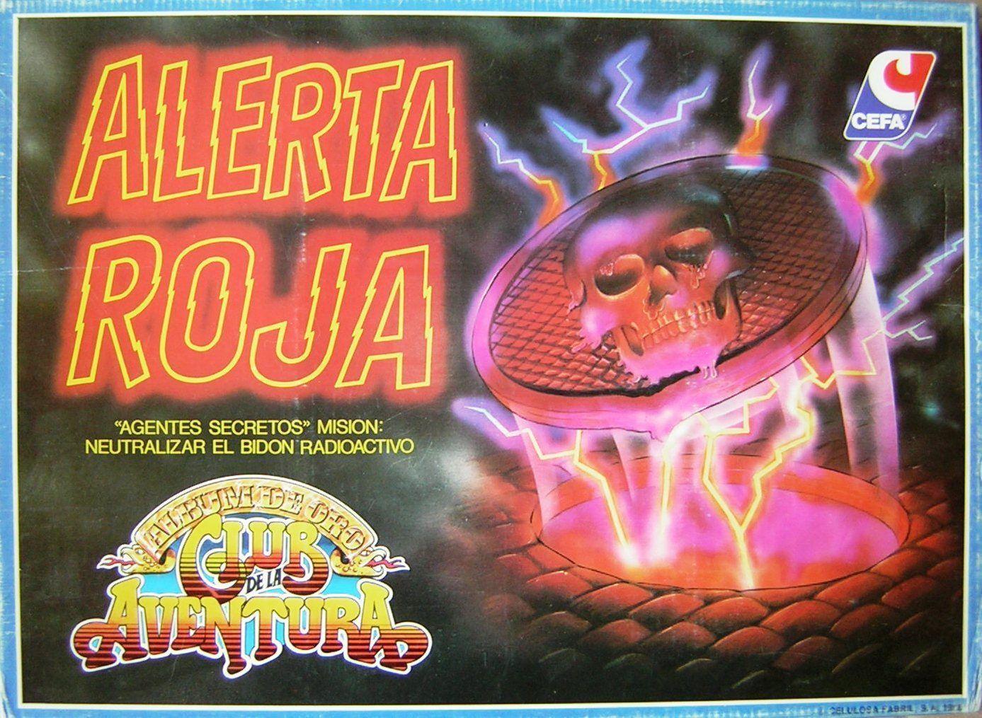 настольная игра Alerta Roja Алерта Роха