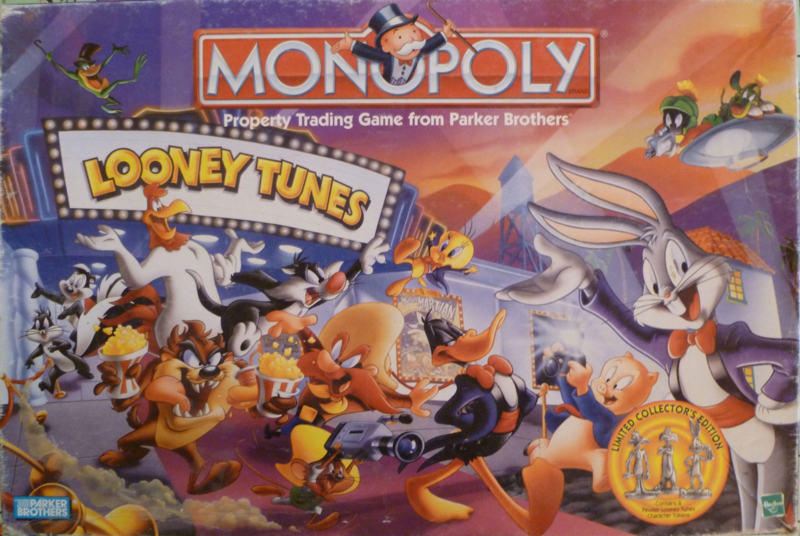 настольная игра Monopoly: Looney Tunes Монополия: Looney Tunes