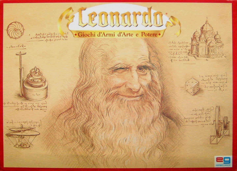 настольная игра Leonardo Леонардо