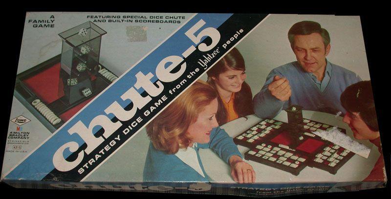 настольная игра Chute-5 Желоб-5