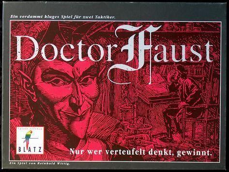 настольная игра Doctor Faust Доктор Фауст