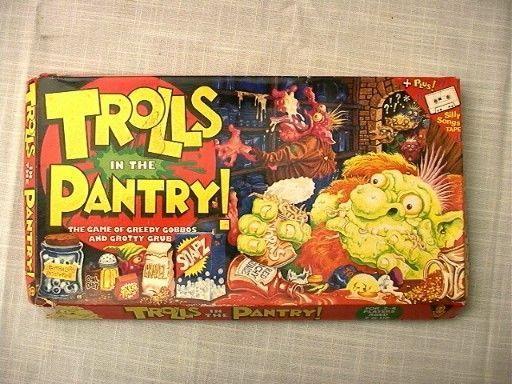 настольная игра Trolls in the Pantry Тролли в кладовой