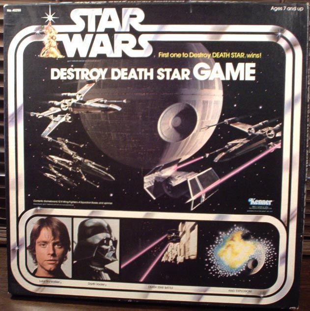 настольная игра Star Wars: Destroy Death Star Game Звездные войны: Уничтожить звезду смерти