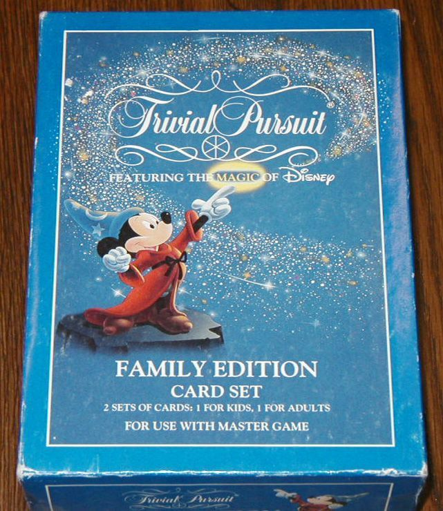 настольная игра Trivial Pursuit: Walt Disney Family Edition Card Set Trivial Pursuit: набор карточек Walt Disney Family Edition