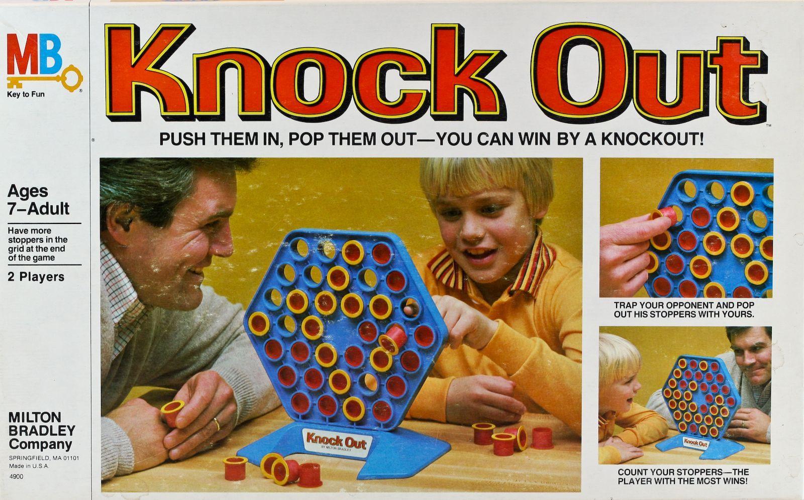 настольная игра Knock Out Нокаутировать