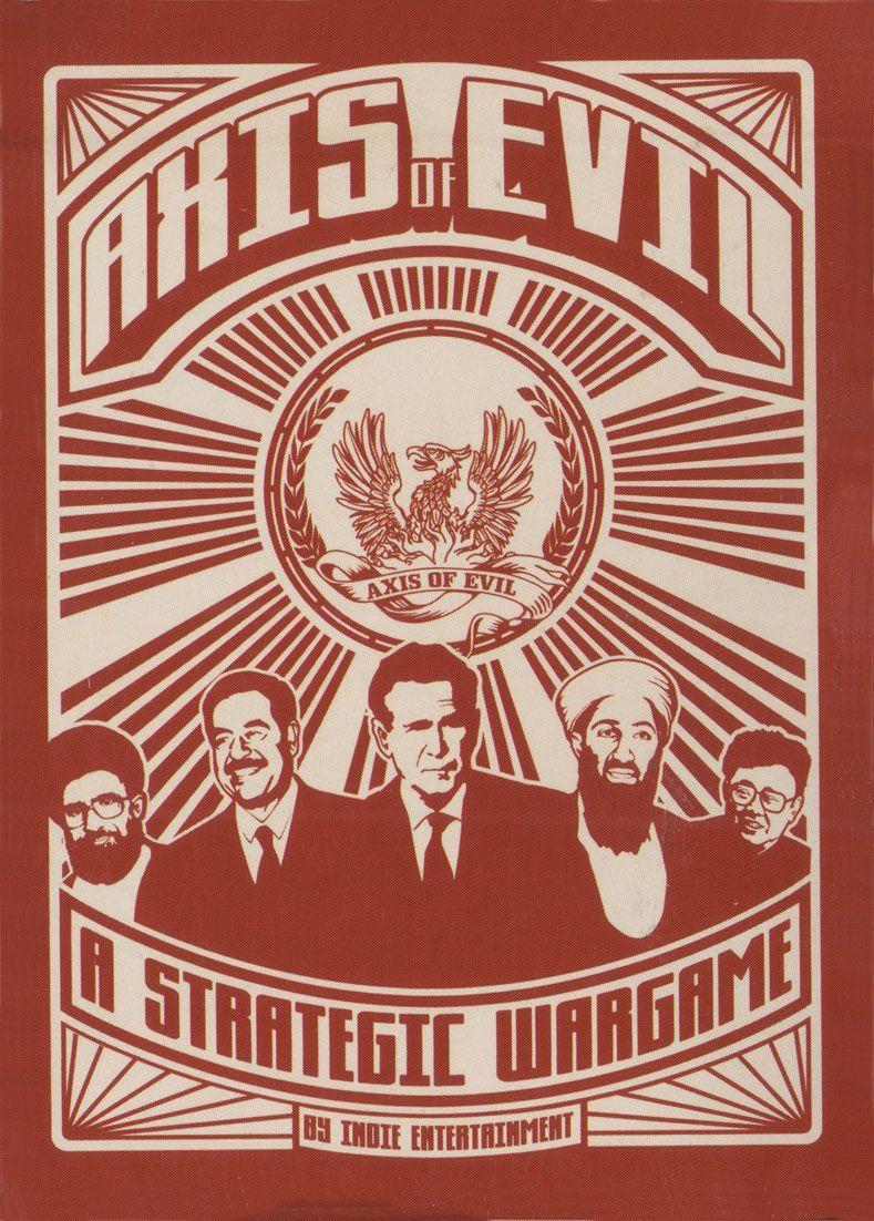 настольная игра Axis of Evil: A Strategic Wargame Ось зла: стратегическая военная игра
