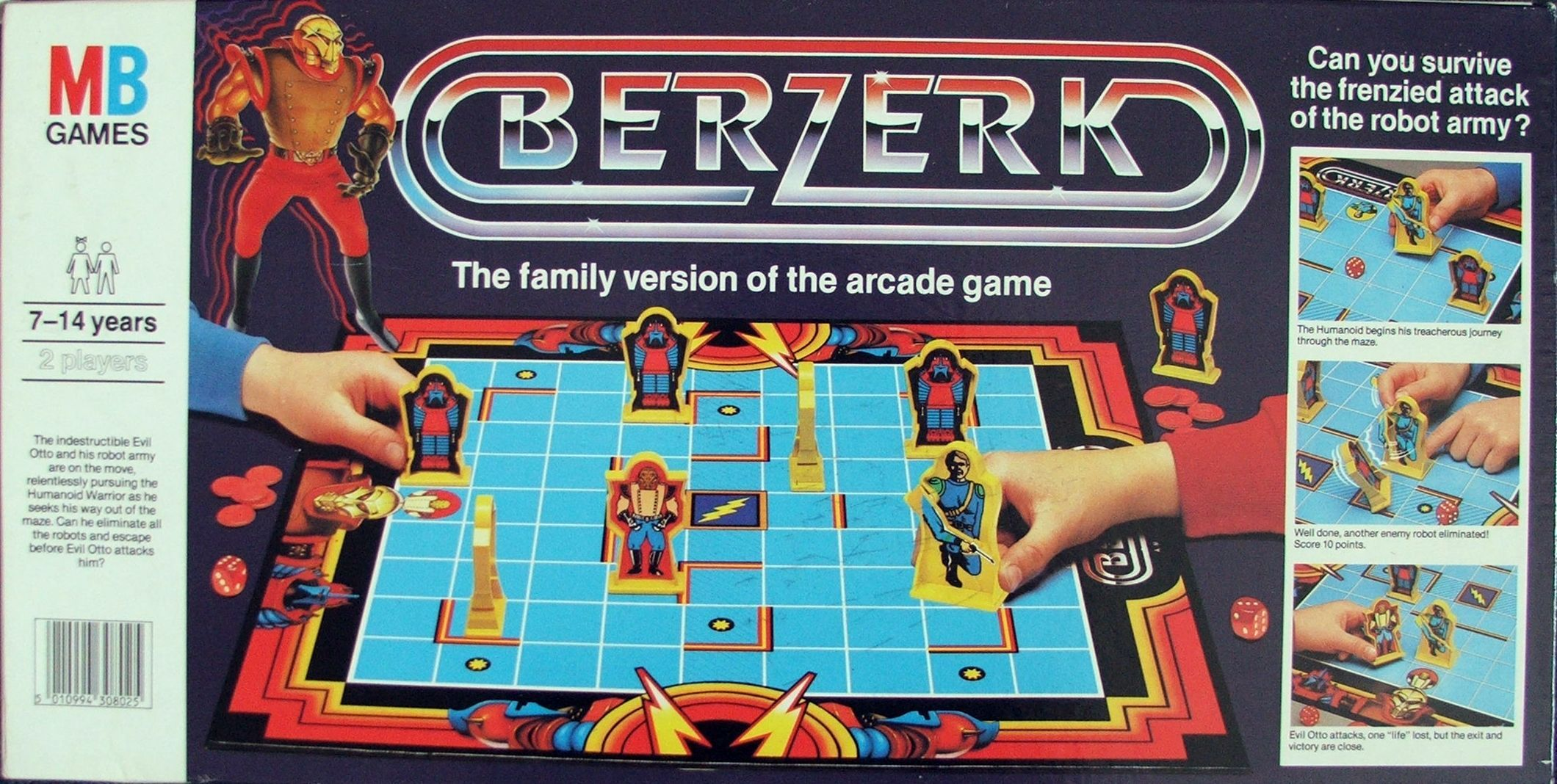 настольная игра Berzerk