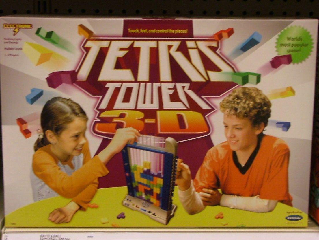 настольная игра Tetris Tower 3D Тетрис Тауэр 3D