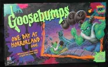 настольная игра Goosebumps: One Day at Horrorland Game Мурашки по коже: One Day at Horrorland Game
