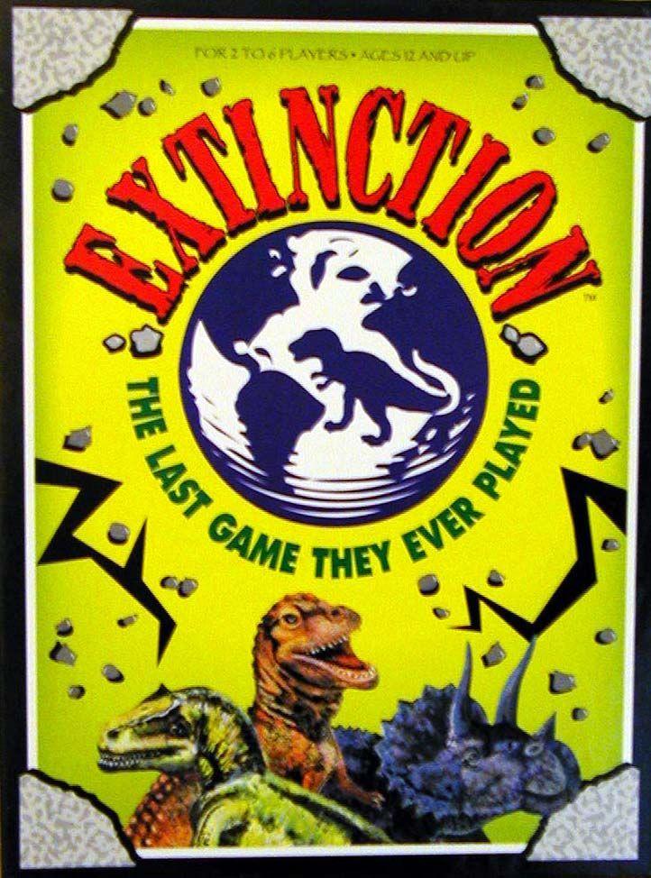 настольная игра Extinction Вымирание